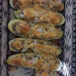 Mandy's Crab Stuffed Zucchini Recipe