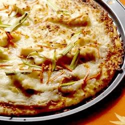 Gourmet Thai Chicken Pizza