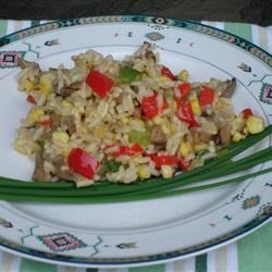 Roasted Corn and Basmati Rice Salad Recipe