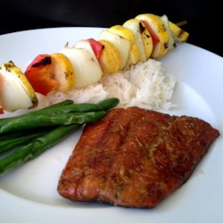 Heather's Grilled Salmon