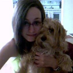 my dog and i :)