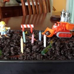 Construction Dirt Cake
