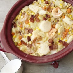 Slow-Cooker Fish Chowder Recipe
