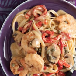 Blackened Shrimp Stroganoff Recipe