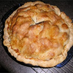Dried Cherries and Apple Pie Recipe