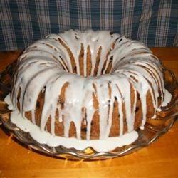 Blueberry Bundt Cake with Vanilla Glaze