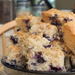 Heirloom Blueberry Cake Recipe