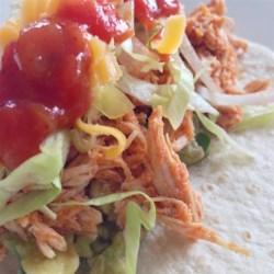Sarah's Easy Shredded Chicken Taco Filling Recipe