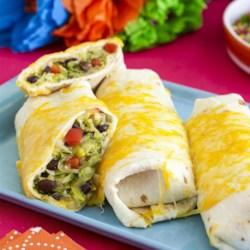 Squash and Zucchini Burritos Recipe