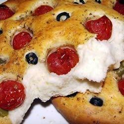 Tomato Focaccia Bread Recipe