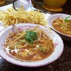 Scottie's Chicken Tortilla Soup Recipe