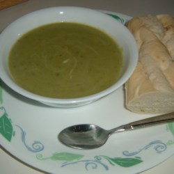 Cream of Asparagus Soup II Recipe