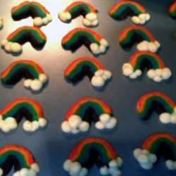 Shortbread Rainbows
