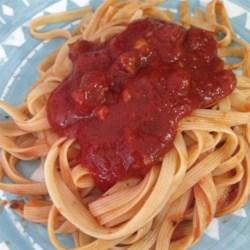 Seven Ingredient Tomato Sauce Recipe