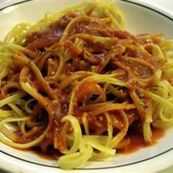 Garlic Spaghetti II Recipe