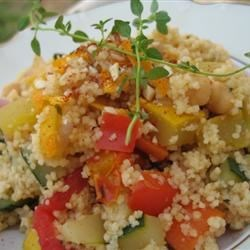 25-Minute Tunisian Vegetable Couscous Recipe