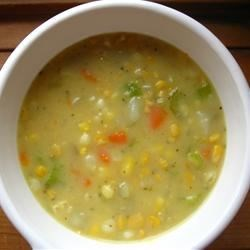 Easy Corn Chowder II Recipe