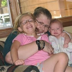 Me & my two Grand Daughters