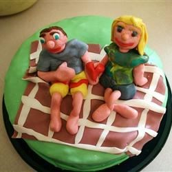 Me and My Sweetie--5 year anni cake