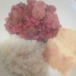 Vikki's Red Bean Sausage Recipe