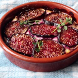... this recipe fig goat cheese tart a delicious free form tart with a bit