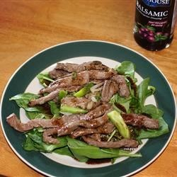 Asian Steak Stir-Fry Salad Recipe