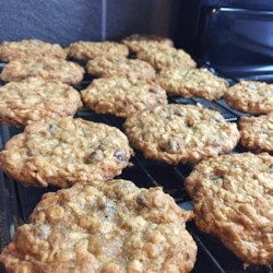 Oatmeal Chocolate  Coconut Chewy Recipe