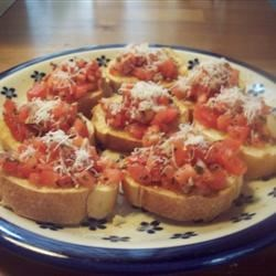 Nikol's Garlic Bruschetta Recipe