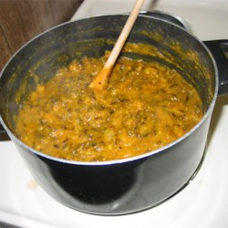 Curried Wild Rice and Squash Soup Recipe