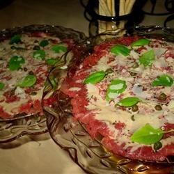 Painted Chef's Classic Beef Carpaccio Recipe