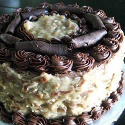 Diane's German Chocolate Cake Recipe