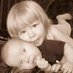 my two beautiful babies