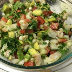 Jose's Shrimp Ceviche Recipe