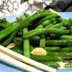 chinese buffet style green beans recipe