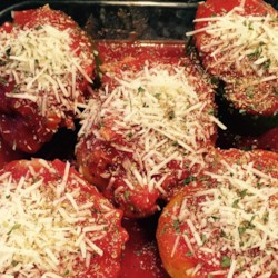 Homestyle Stuffed Peppers Recipe