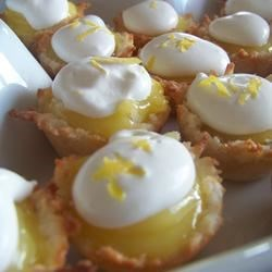 Lemon Macaroon Tartlets Recipe