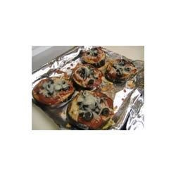Mini Eggplant Pizzettes Recipe