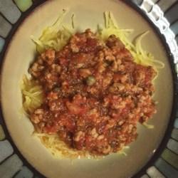 Spicy Spaghetti Squash Recipe