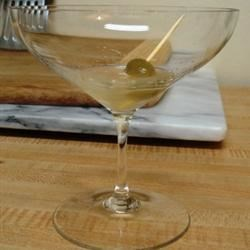 Kettle One extra dirty vodka martini!