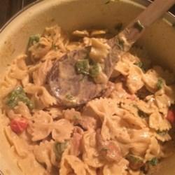 Cajun Chicken and Sausage Pasta Recipe