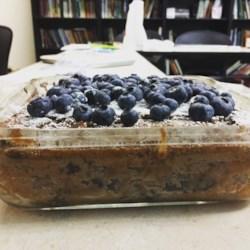Cocoa Blueberry Cake Recipe
