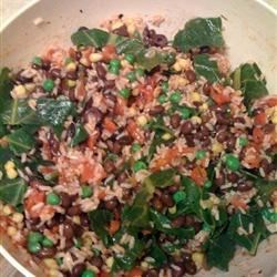 Photo of Brown Rice and Black Bean Salad by Ammaliatrice