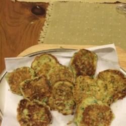Mom's Zucchini Pancakes Recipe