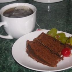 Christmas Chocolate Town Cake