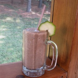 "My ""Don't Knock it Until You Try It Zucchini Chocolate Banana Nut Milkshake"""