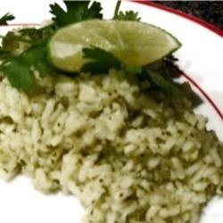Becky's cilantro lime rice