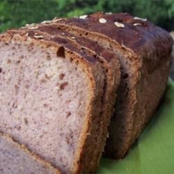 Strawberry Oatmeal Cream Cheese Bread