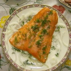Grilled Gingered Salmon