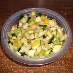 Photo of Sweet and Sour Zucchini Salad by CHRISTYJ