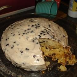 Macadamia and White Chocolate Cake